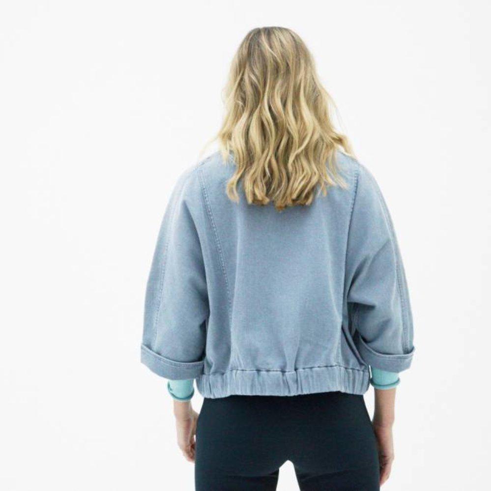 Jeans bomber