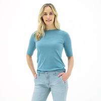 mette vrouwen t-shirt ijsblauw