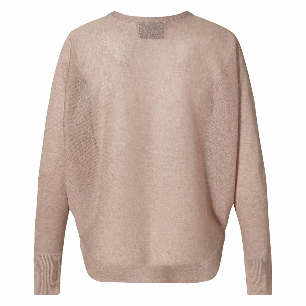 Be the change batwing lurex sweater