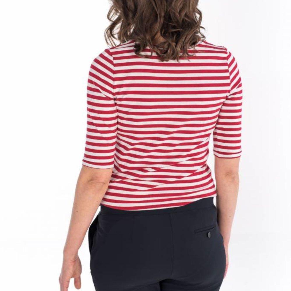 evergreen stripe t-shirt