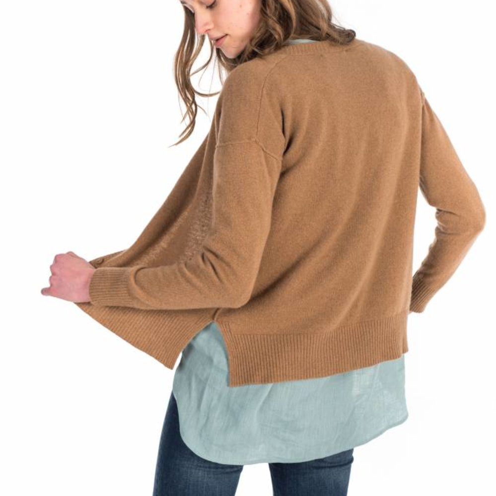 Outstanding 100% cashmere cardigan