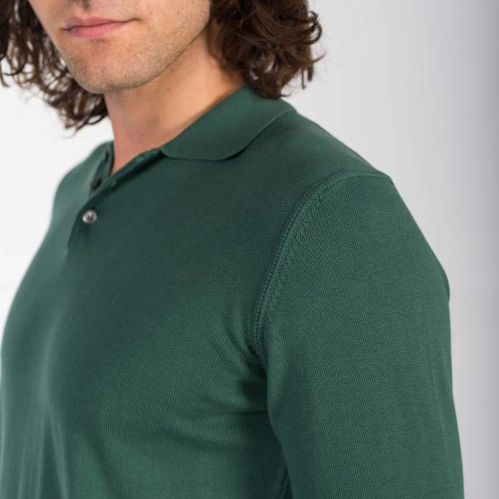Refined polo long sleeves