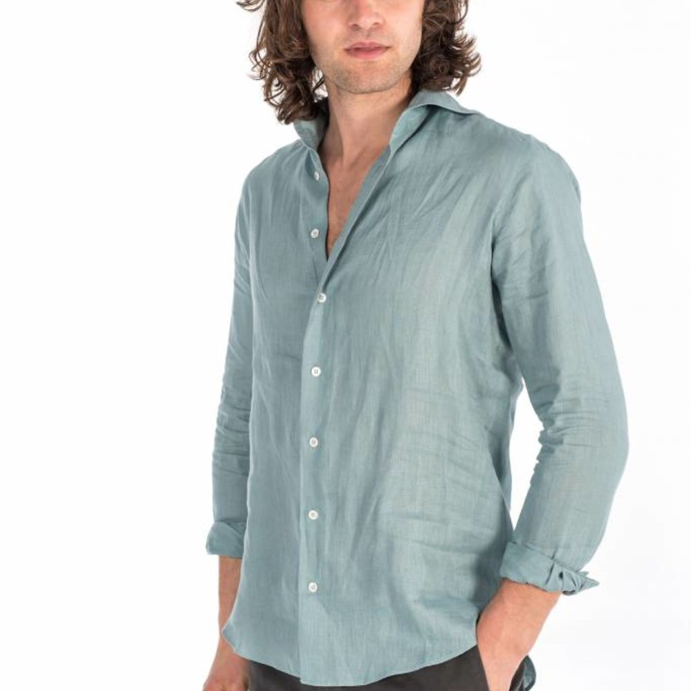 the  perfect shirt in 100% linen