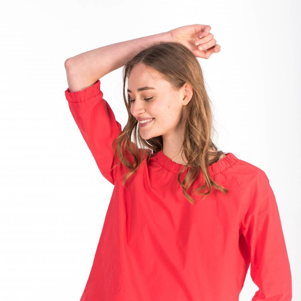 poplin smart/casual top