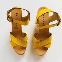 Rinske schoen vrouwen geel