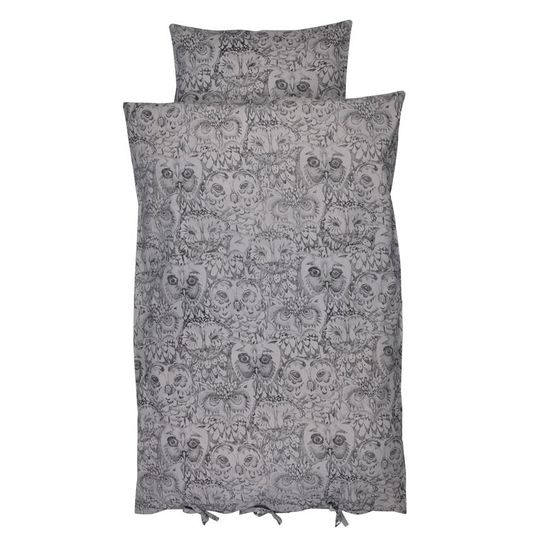 soft gallery owl junior duvet cover drizzle