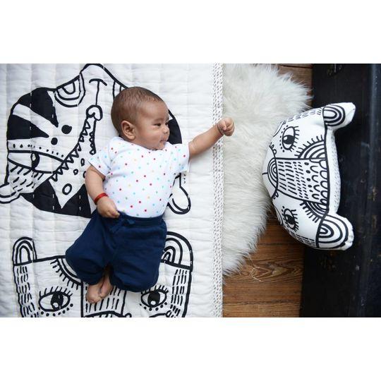 wee gallery bear pillow