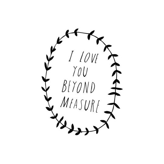 shanna murray beyond measure wall sticker capitals