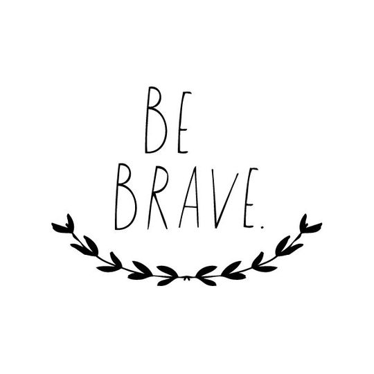 shanna murray be brave wall sticker