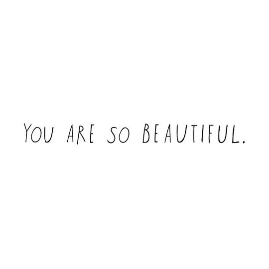 shanna murray you are so beautiful wall sticker