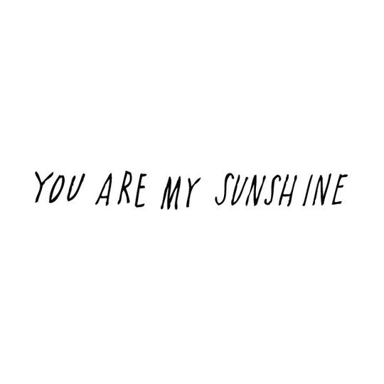 shanna murray you are my sunshine wall sticker