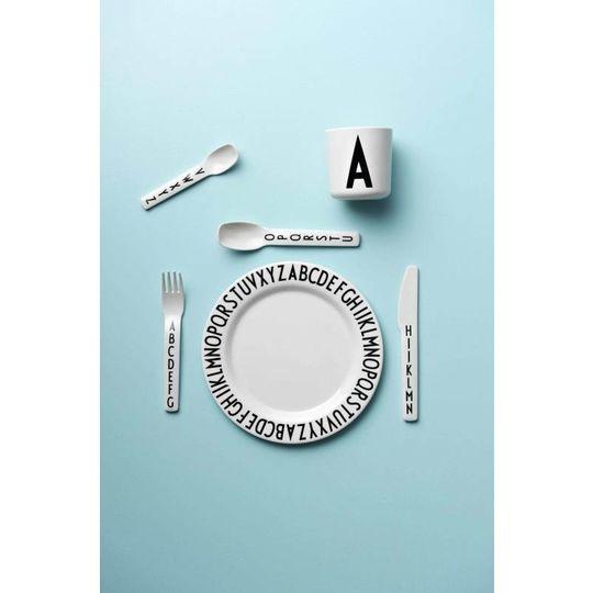 design letters melamine beker