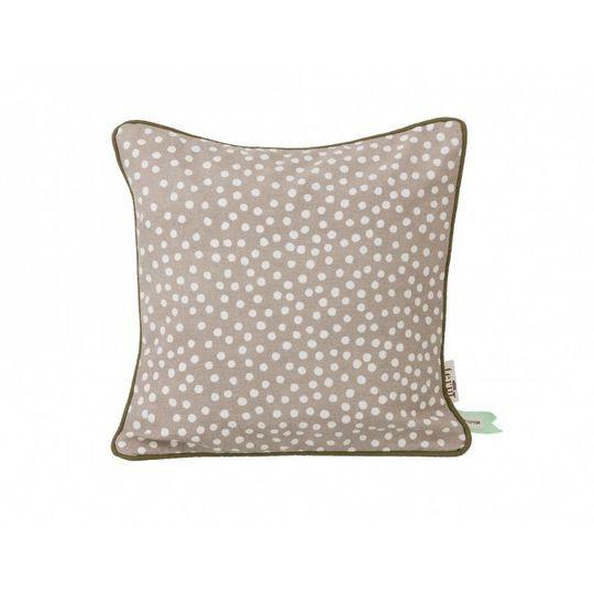 ferm living dots grey pillow