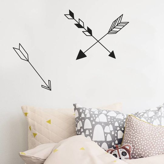 ferm living arrow wallstickers