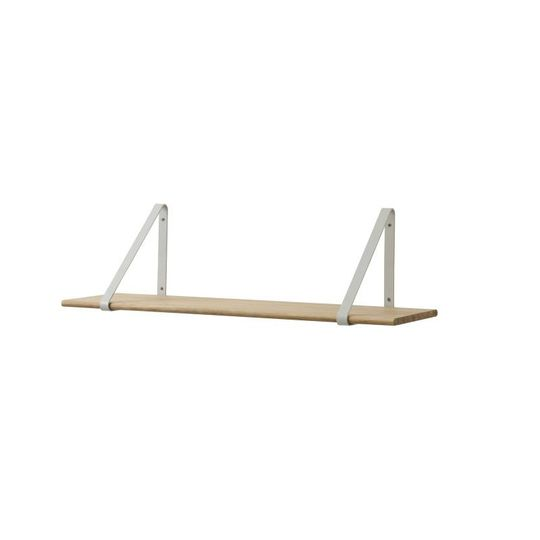 ferm living metal shelf hangers grey