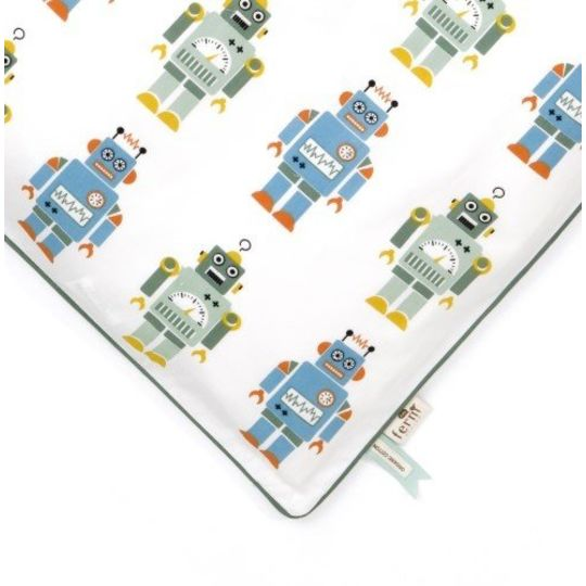 ferm living robots duvet cover junior