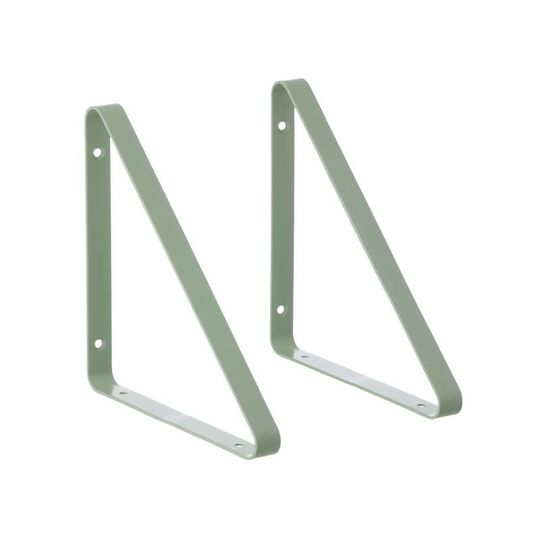 ferm living metal shelf hangers mint