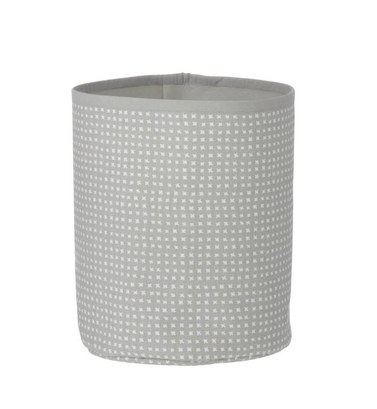ferm living basket cross grey cozykidz. Black Bedroom Furniture Sets. Home Design Ideas