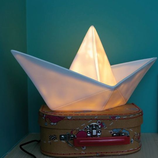 goodnightlight design origami boot lampje