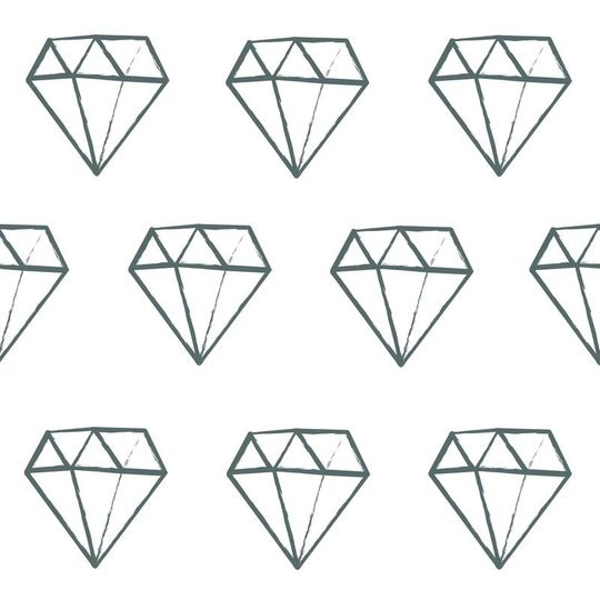 love mae diamond wall decals