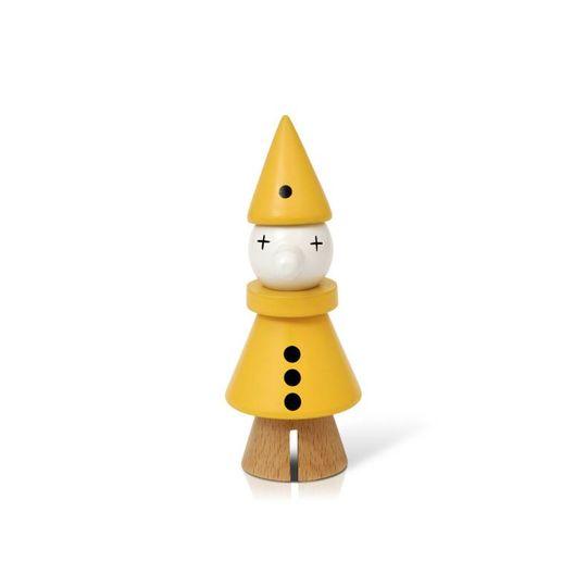 lucie kaas gunnar flørning collection clown yellow