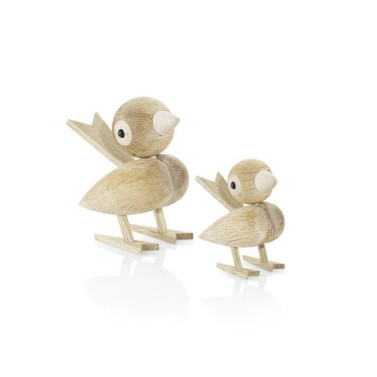 lucie kaas gunnar flørning collection sparrow small oak - 8 cm