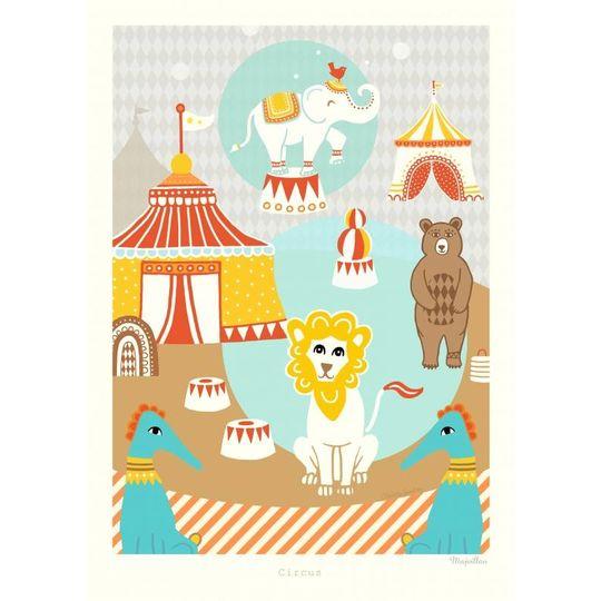 majvillan circus poster