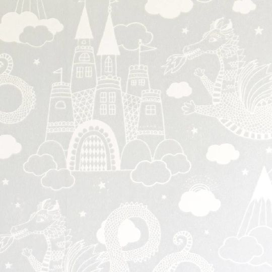 majvillan dragon sky grey wallpaper