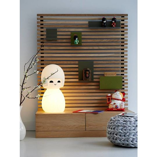 mr maria kokeshi lamp
