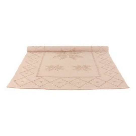 naco rug star dusty pink