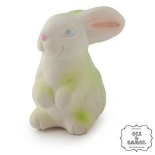 oli and carol vintage bunny bob bathtoy teether