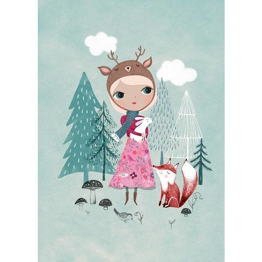 psikhouvanjou rebecca jones deer girl mint