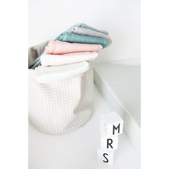 camcam copenhagen organic muslin cloth grey