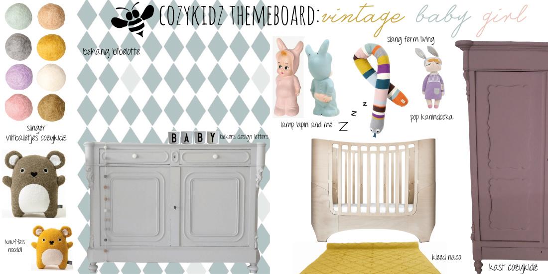 kinderkamer & babykamer styling - cozykidz, Deco ideeën