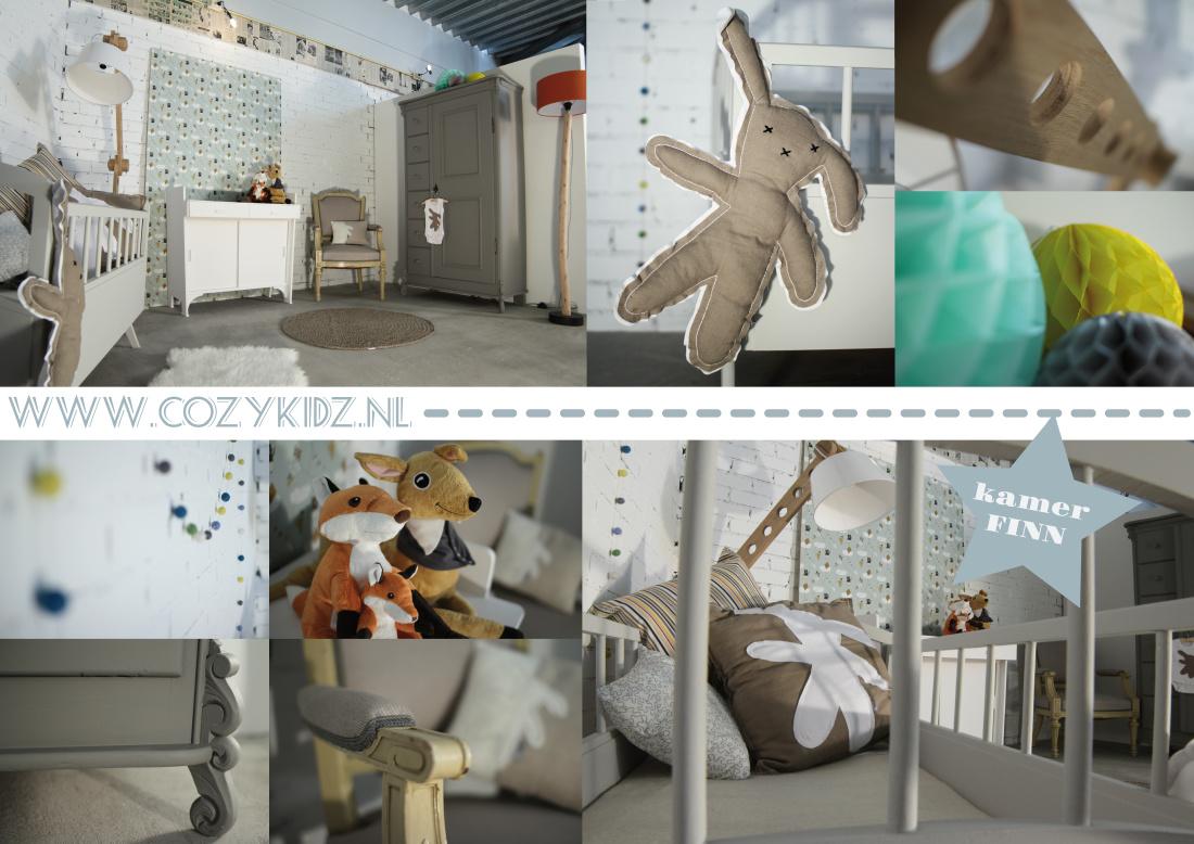 Kinderkamer babykamer styling cozykidz - Lichtgrijze kamer ...