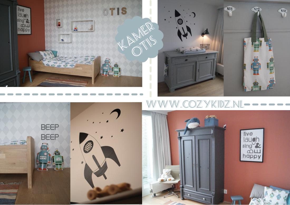 Kinderkamer babykamer styling cozykidz for Deco slaapkamer jongen jaar