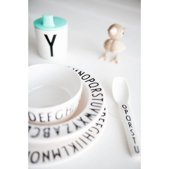 design letters deksel voor beker mint
