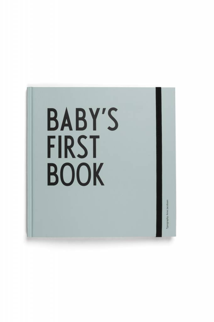 Design letters baby39s first book turquoise cozykidz for Design letters baby s first book