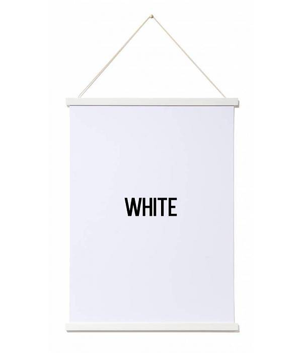 thabto magnetic poster frame A3 white - CozyKidz
