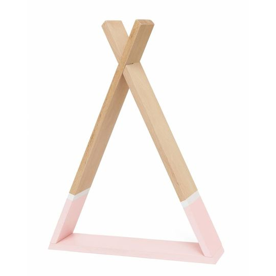 petit monkey tipi shelf pink