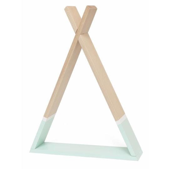 petit monkey tipi shelf mint