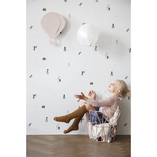 ferm living air balloon lamp rose