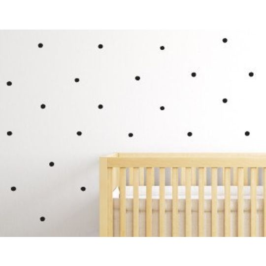 wee gallery weecal wall stickers dots