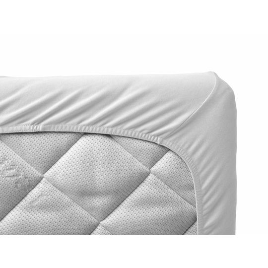 leander fitted sheet set of 2 white 60x120 cm