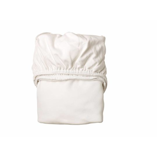 linea by leander fitted sheet set of 2 white 60x120 cm