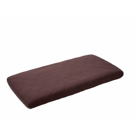 leander fitted sheet set of 2 purple 60x120 cm