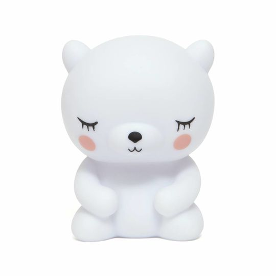 petit monkey nightlight polar bear