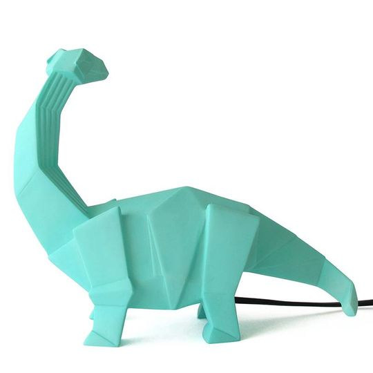 disaster designs origami lamp diplodocus mint