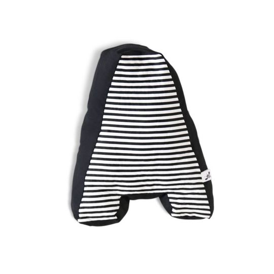 cozykidz letter pillow black