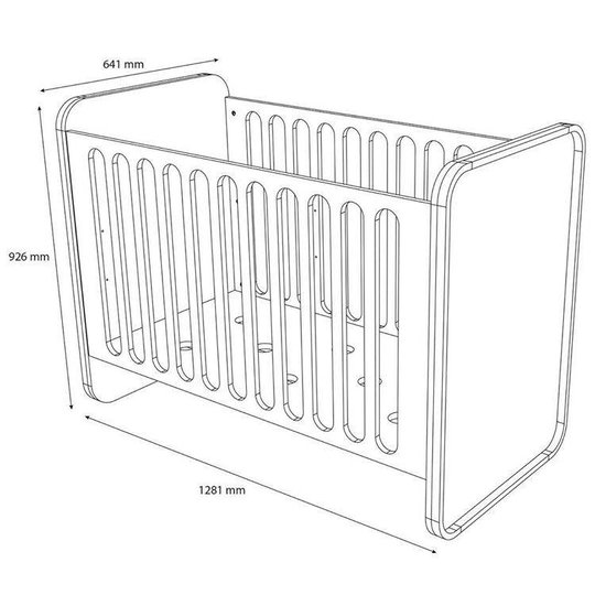 ollie | s | out chocolate sleeper bed